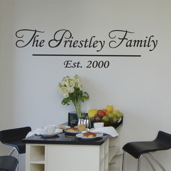 personalised family name wall sticker ebay nursery tree name wall decals with birds wall decal kids wall