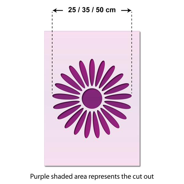 Large Reusable Medallion Template Mandala Stencil by CraftStar Bloom
